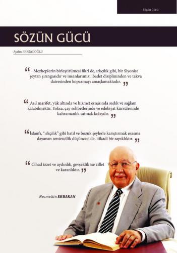 Mezheplerin birleştirilmesi de ırkçılık gibi, Siyonist ... Prof. Dr. Necmettin Erbakan