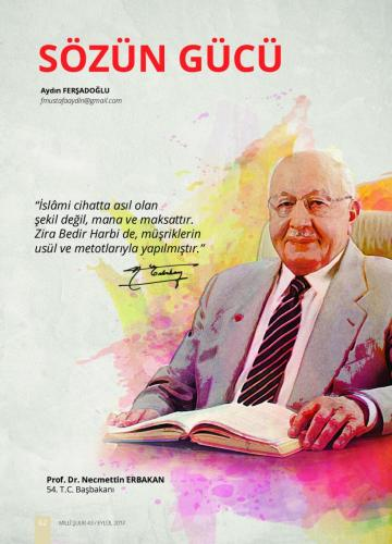 İslami cihatta asıl olan... Prof. Dr. Necmettin Erbakan