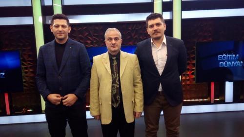 Şahin KILINÇ ÖSÖB DER Başkanı, Yusuf Serkan Kılınç ÖSÖB DER Başkan Yardımcısı 20210218 151225