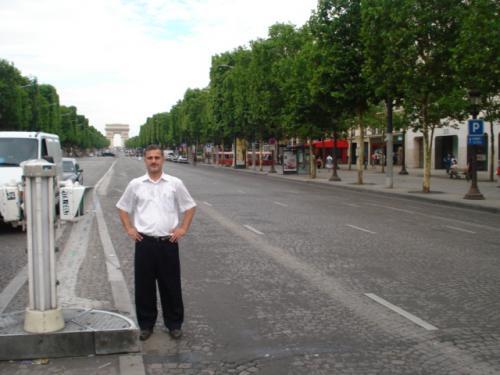 Şanzelize Caddesi Champs-Elysees