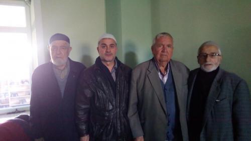 Babam, Baba Dostu İbo Hasan, Kore Gazisi Milli Görüşçü Saadet Partili Rafet Bozkurt ile Yalakdere Camiinde IMG 20200218 134247