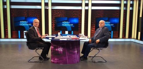 OSTİM Yönetim Kurulu Başkanı ve OSTİM T. Üniversitesi Mütevelli Heyeti Başkanı Orhan Aydın ile Tv5 Eğitim Dünyamız Programı öncesi 20210320 165834