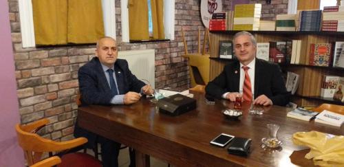 OSTİM Yönetim Kurulu Başkanı Orhan Aydın MG KAFE'de 20210320 180634