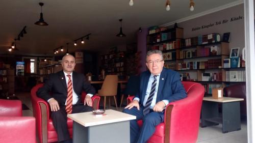 Prof. Dr. Yusuf Ziya ÖZCAN ile MG Kafe'de 2021 09 15